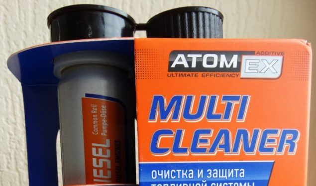 Piedeva dīzeļdegvielai XADO Multi Cleaner