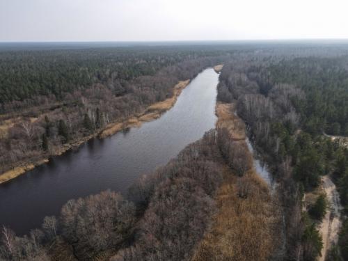 Irbes upes ieteka jūrā